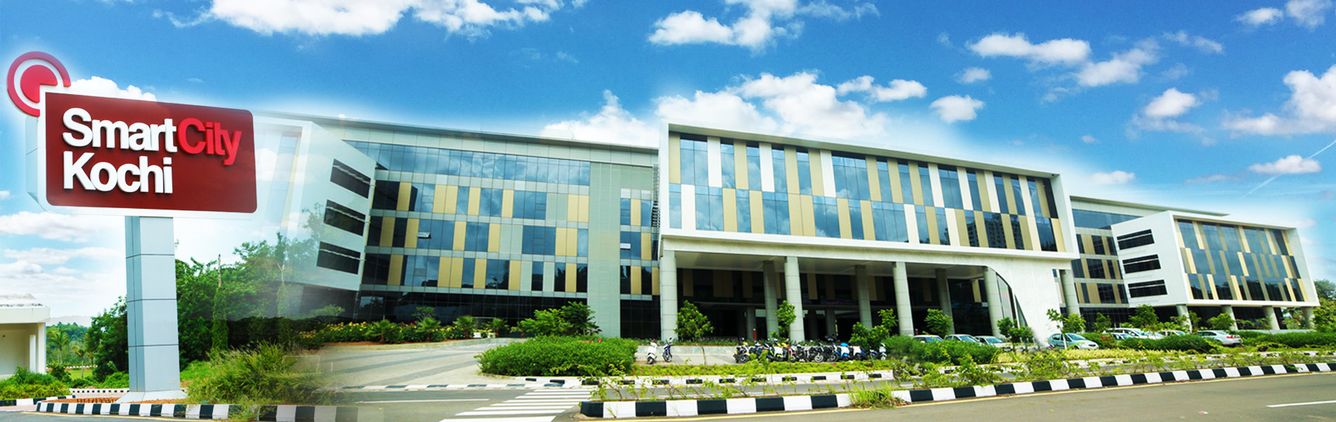 We are now at Smartest workplace in Kerala